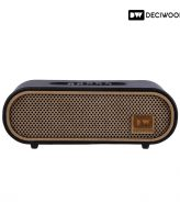 deciwood curved bluetooth speaker